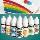 10 Color Macaron Cake Food Coloring Decorating Baking Set - Pastry-Tools~
