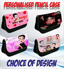 BETTY BOOP PERSONALISED CHILDRENS PENCIL CASE - choice of design £8.5 GBP on eBay