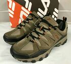 Fila Men s Midland Hiker Trail Shoes Brn orange New Sizes 8 13