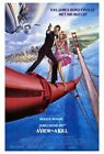 241153 A VIEW TO KILL Movie Bond WALL PRINT POSTER AU $49.95 AUD on eBay