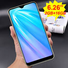 """6.26"""" 16gb Android 9.0 Unlocked Cell Phone Smartphone Dual Sim Quad Core Phablet"""