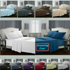 Egyptian Comfort 1800 Count 4 Piece Deep Pocket Bed Sheet Set King Queen Size H3 image