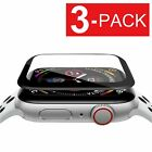 3-Pack Apple Watch iWatch Series 4 Full  Screen Protector Film  40mm / 44mm