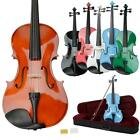 "16"" Inch Right Hande Adult Acoustic Viola Set+ Case Bow Rosin"