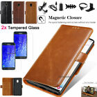 For Samsung Galaxy J3 2018 2017 Leather Wallet Case Stand Card Slots Phone Cover