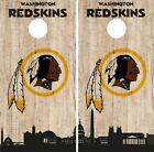 Washington Redskins Cornhole Wrap NFL Game City Skyline Skin Vinyl Decal CO884 $39.95 USD on eBay