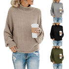 Turtleneck Sweater Women Fashion Warm Women Winter Autumn Pullover Sweaters New