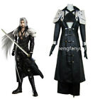 Final Fantasy VII FF7 ​​Sephiroth Unisex Cosplay Costume Halloween Leather Suit