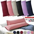 Body Pillow Case Soft Microfiber Long Bedding Long Body Pillow Covers King/Queen image