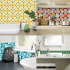 19pcs Mosaic Tile Wall Sticker PVC Waterproof Tiles Decals Kitchen Home Decor US $5.59 USD on eBay