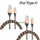 2x Motorola Moto Z4 Z3 Play G6 G7 G8 G9+ USB Type C Charger Cable Charging Cord