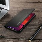 For iPhone 11 Pro Max 7 8 XR Magnetic Carbon Leather Flip Wallet Slim Case Cover