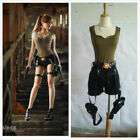 New Tomb Raider Lara Croft Cosplay Costume Full set free shipping