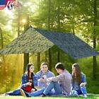 Waterproof Lightweight Camping Tent Tarp Camo Shelter Hammock Rain Fly Cover
