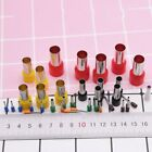 40pcs Mini Clay Hole Cutters Round Polymer Ceramic Pottery Sculpting Punch Tool image