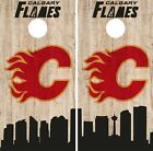 Calgary Flames Cornhole Wrap NHL Game City Skyline Skin Vinyl Decal CO889 $39.95 USD on eBay