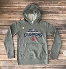 Boys kids 2018 Boston Red Sox Champions Grey Hoodie Pull Over Sweater Size M, L on Ebay