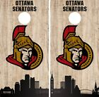 Ottawa Senators Cornhole Wrap NHL Game City Skyline Skin Vinyl Decal CO904 $39.95 USD on eBay