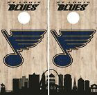 St. Louis Blues Cornhole Wrap NHL Game City Skyline Skin Vinyl Decal CO908 $39.95 USD on eBay