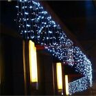 5M Christmas LED Curtain Icicle String Light droop 0.4-0.6m LED Party Garden