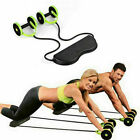 AB Roller Abdominal Exercisers Wheel W/ Knee Pad Workout Body Gym Fitness Tool image