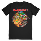 Iron Maiden Legacy of the Beast 2019 Brazil Event  Cotton T-Shirt S-3XL  image