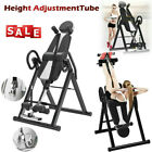 Inversion Table Hanging Up Foldable Fitness Back Therapy Pain Upside Down image