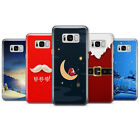 Christmas theme - Santa Claus, Winter, Snow phone case cover fits for Samsung