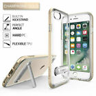NEW Ultra Hybrid S Shockproof Clear Kick stand Case TPU Cover For iPhone 8 / 7