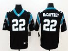 New Men's Carolina Panthers #22 Christian McCaffrey football stitched jersey $28.99 USD on eBay