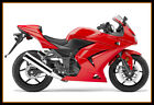 Fairing Set Kit + Headlight For Kawasaki 2008 2009 2010 2011 2012 Ninja250R Red