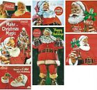 COCA-COLA PRINT ADS WITH SANTA CLAUS AS A SPOKESMAN ON REFRIGERATOR MAGNETS $2.99  on eBay