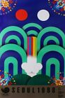 Olympics 1988 Print Seoul Games Limited Edition 60x99cm