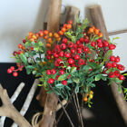 Artificial Christmas Holly Berry Plant Simulation Holiday Party Home Decor Sanw