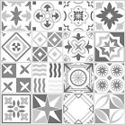Grey Mosaic / Pattern Tile Stickers For 100Mm X 100Mm / 4 X 4 Inch Design G21