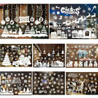 Christmas Xmas Removable Wall Window Stickers Art Decal For Home Shop Decor