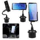 Universal 360° Adjustable Car Mount Gooseneck Cup Holder Cradle for Cell Phones