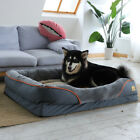 3 in 1 Deluxe Soft Washable Dog Bed Warm Basket XL Cushion Crate Foam Waterproof