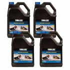 1 Case 4 Gallon Yamaha Wave Runner Jet Ski Engine Oil 2W Yamalube Waverunner