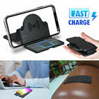 For Universal Cell Phone 15W QI Wireless Car Phone Charger Charging Dock Pad Mat