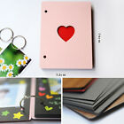 6inch Heart Wooden Photo Album Loose-leaf Baby Growth Memory Record Book Sanwood