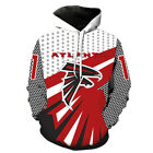 New Atlanta Falcons 3D Print Hoodie Men Sweatshirt Pullover Cosplay Jacket Coat $24.99 USD on eBay