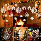 Christmas Gift Removable Wall Window Stickers Cling Decals Xmas Home Decorations