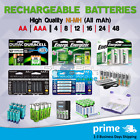 Used, Rechargeable Batteries AA / AAA 2 4 8 12 16 Ni-MH Battery Charger Ni-MH mAh lot for sale  USA