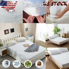 Mattress Cover Protector Waterproof Pad KingQueen Size Bed Cover Hypoallergenic image