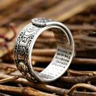 Pixiu Charms Feng Shui Amulet Wealth Lucky Open Adjustable Ring Buddhist Je Y7w3