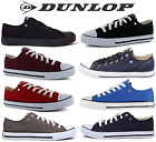 Dunlop Original or SoulCal&Co mens low canvas trainers 6 7 8 9 10 11 12 13 14 15