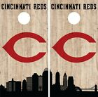 Cincinnati Reds Cornhole Wrap MLB Game City Skyline Skin Vinyl Decal CO921 on Ebay