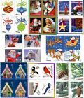Внешний вид - 20 Christmas Forever Stamps Book USPS Holiday Evergreen Santa Winter Your Choice