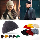 Fashion Beechfield Trawler Beanie Hat Fisherman Retro Hipster Style Knitted Look
